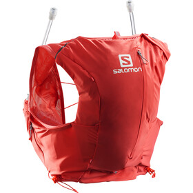 Salomon Adv Skin 8 Backpack Set Dame cayenne/porcelain